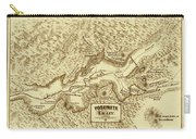 Vintage Yosemite Map 1870 Carry-all Pouch
