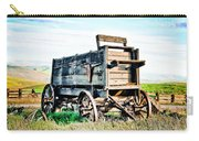 Vintaged Covered Wagon Carry-all Pouch
