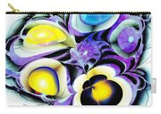 Viola Tricolor Carry-all Pouch