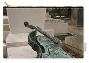Violen Sculpture In Pere Lachaise Cemetery Carry-all Pouch