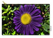 Violet Aster Carry-all Pouch