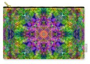Violet Cosmos Mandala Carry-all Pouch