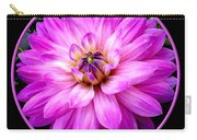 Violet Dahlia Carry-all Pouch