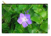 Violet Herbaceous Periwinkle Carry-all Pouch