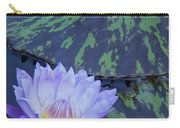 Violet Lily Carry-all Pouch