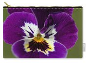 Violet Macro Carry-all Pouch