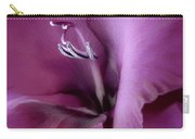 Violet Passion Gladiolus Flower Carry-all Pouch