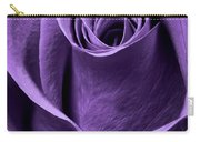 Violet Rose Carry-all Pouch by Adam Romanowicz