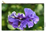 Violet Ruffles Carry-all Pouch