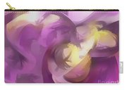 Violet Summer Pastel Abstract Carry-all Pouch