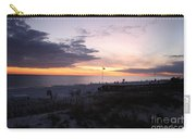 Violet Sunset Over The Sea Carry-all Pouch