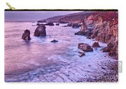 Violet Tides - Rocky Coast From Soberanes Point In Garrapata State  Carry-all Pouch