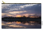 Violet Twilight On The Lake Carry-all Pouch