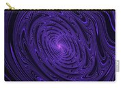 Violet Vortex-3 Carry-all Pouch