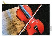 Violin Impression Redux Carry-all Pouch