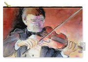 Violin Man Carry-all Pouch