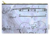 Violin Patent Poster Carry-all Pouch