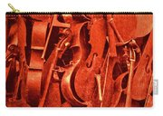 Violin Sculpture  Carry-all Pouch
