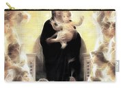 Virgin And Child Fractalius Carry-all Pouch