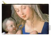 Virgin And Child Holding A Half-eaten Pear, 1512 Carry-all Pouch
