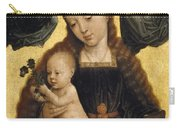 Virgin And Child With Angels Carry-all Pouch