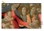 Virgin And Child With St John The Baptist And The Three Archangels Carry-all Pouch