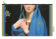 Virgin Of The Adoption Poster Carry-all Pouch