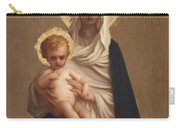 Virgin Of The Deliverance Carry-all Pouch