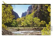 Virgin River In Zion National Park Carry-all Pouch