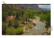 Virgin River Through Zion National Park Carry-all Pouch