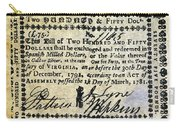 Virginia Banknote, 1781 Carry-all Pouch