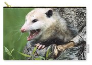 Virginia Opossum Hissing North America Carry-all Pouch