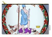 Virginia State Seal Carry-all Pouch by Movie Poster Prints