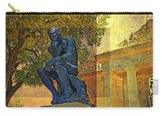 Visit To The Thinker Carry-all Pouch
