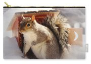 Visiting The Outhouse Carry-all Pouch