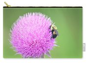 Visitor On Thistle Carry-all Pouch