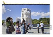 Visitors At The Martin Luther King Jr Memorial Carry-all Pouch