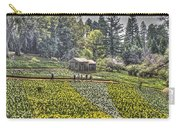 Visitors On Daffodil Hill Carry-all Pouch