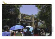 Visitors Thronging The Jurassic Park Rapids Adventure Ride Carry-all Pouch