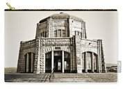 Vista House - Sepia Carry-all Pouch
