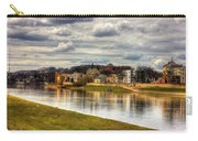 Vistula River In Cracow Carry-all Pouch