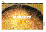 Visualize Gold Carry-all Pouch