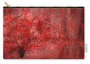 Visually Empowered- Marsala Art Carry-all Pouch