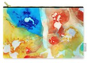 Vitality - Contemporary Art By Sharon Cummings Carry-all Pouch by Sharon Cummings