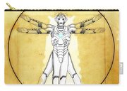 Vitruvian Cyberman Carry-all Pouch