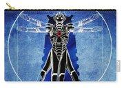 Vitruvian Cyberman In Deep Space  Carry-all Pouch
