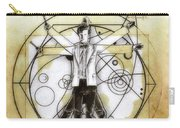 Vitruvian Dr Who Carry-all Pouch
