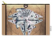 Vitruvian Falcon Millenium Carry-all Pouch