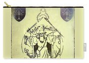 Vitruvian Gandalf The White Carry-all Pouch