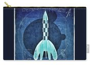 Vitruvian Tintin In Space Carry-all Pouch